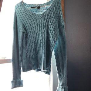 Sea blue sweater